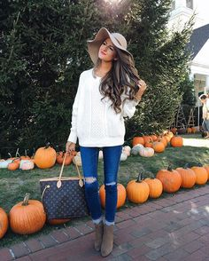 This sweater is soo soft  & comes in four colors! Details here: http://liketk.it/2pm3m @liketoknow.it #liketkit #whatiwore #wiw #ootd #lookbook #pumpkinpatch #americanstyle #happymonday #ltkunder50