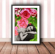 Rose & green mix! by Aleksandra on Etsy