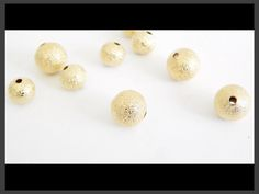BOACOL6 Bola Azucarada en chapa de oro 14k, diámetros 6 mm, ideal para bisutería fina, precio x gramo $4 pesos, precio medio mayoreo $3.80, precio mayoreo $3.70, precio VIP $3.60,