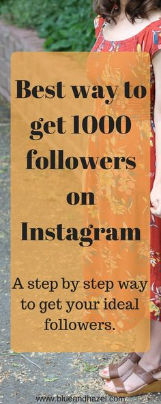 After using this method I quickly went from 160 to 1000 Instagram followers.  It's simple and you can reproduce this, way beyond 1000 too!