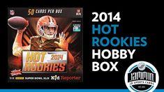 2014 Panini Hot Rookies Hobby Box Break - HOT PACK! + Vote for Sunday