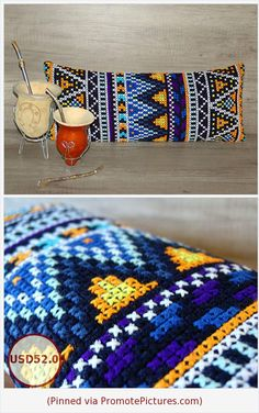 african style clothing African style cross stitch lumbar pillow, needlepoint embroidered pillow sham, long bolster geometrical pillowcover 10 x 24 inch x This African sty Lumbar Pillow, Pillow Shams, Pillow Covers, Throw Pillows, African Style, African Fashion, Bohemian Chic Home, Cross Stitch Pillow, Needlepoint Pillows