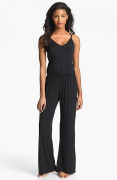 Obsessed with jumpsuits right now #springtrend2014 Splendid 'Essentials' Jumpsuit available at #Nordstrom
