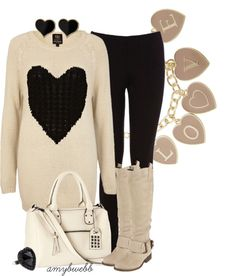 """Hearts and Love"" by amybwebb on Polyvore"