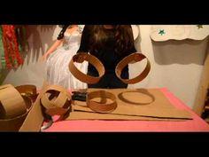 Hacer una piñata de cartón de princesa segunda par - YouTube