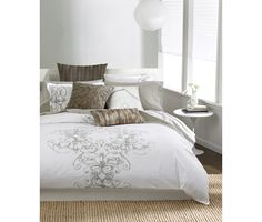 Tommy Hilfiger Mission Paisley Full Queen Duvet Cover Set