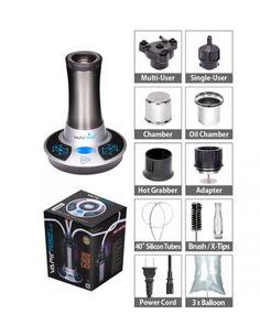 One of the most silent desktop vaporizers, the Vapir Rise Vaporizer. This is a high quality product made by Vapir. Check out the Vapir Rise vaporizer Ballon, The Godfather, Essential Oils, Grass, Desktop, Shop, Spray Bottle, Grasses, Store