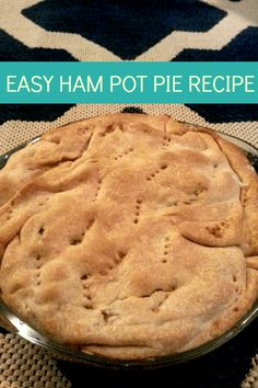 one of my new favorite easy recipes: this easy ham pot pie recipe! use all natural ham for best taste (Best Pie Cups) Pie Recipes, Cooking Recipes, Easy Recipes, Recipes Using Ham, Family Recipes, Recipies, Dinner Recipes, Ham Dishes, Dinner Dishes