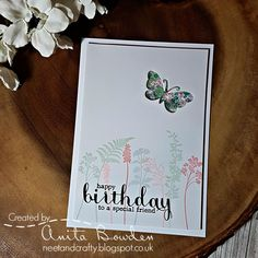 Hi there   I'm your designer for this week's challenge over at Muse  and I've gone for a pastel Spring card, and one I made for my best frie...