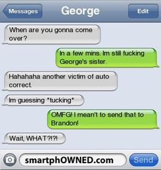 1223 - - Autocorrect Fails and Funny Text Messages - SmartphOWNED Cute Texts, Funny Texts, Funny Jokes, Cute Text Messages, Phone Messages, Weird Text, Lol Text, Awkward Texts, Funny Conversations