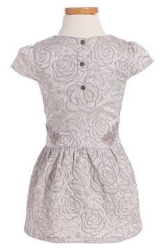 Main Image - Ruby & Bloom Floral Jacquard Dress (Toddler Girls, Little Girls & Big Girls)