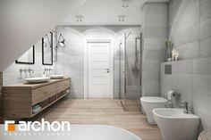 projekt Dom w śliwach (G) Wizualizacja łazienki (wizualizacja 3 widok 2)