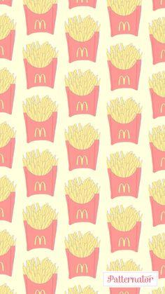 Fries #wallpaper #iphone