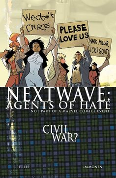 bedaboogieman: I firmly believe this cover is reason enough to check out Nextwave