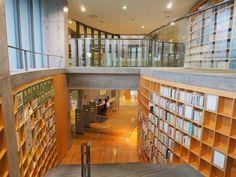 新潟市立豊栄図書館/安藤忠雄。