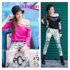 Calças estampadas para encher o Inverno de cor!   #oufashion #inverno2015 #calçadeanimalprint #pants