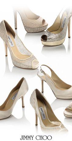 Bridal Glam shoe by J Choo