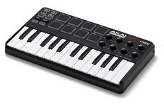 Akai MPK mini. Lives with my laptop and is usually the first step in anything I compose lately.