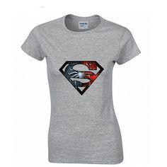Super spiderman Fashion Print 100% Cotton Women's T-shirt