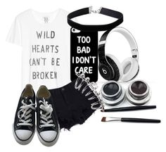 """Untitled #295"" by crystal0248 ❤ liked on Polyvore featuring Zoe Karssen, Converse, Beats by Dr. Dre and Miss Selfridge"