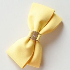 Solid Color Hair Bows With Metal Buckle Two Layers Bow Hair Clip Barrettes Hair Accessories For Women/Girls/Students