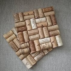 Arts And Crafts App Product Arts And Crafts For Adults, Diy Arts And Crafts, Home Crafts, Diy Crafts, Wine Cork Art, Wine Cork Crafts, Bottle Crafts, Wine Corks, Block Craft