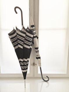 Classic stripes! Umbrellas from Molly Marais