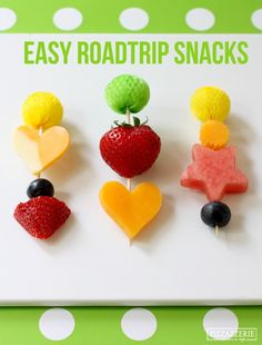 Fruit and Cheese Kid's Snacks - what great ideas for children to help with the preparations - always a great way to encourage #kids to try new foods and to eat #allthetimefoods!