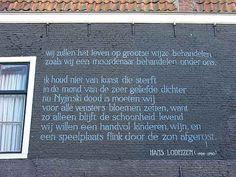 Leiden Poetry Hans Lodeizen Wij zullen het leven...
