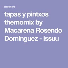 tapas y pintxos themomix Make It Simple, Buffet, Food And Drink, Magazines, Platform, Author, Digital, Appetizers, Cooking Recipes