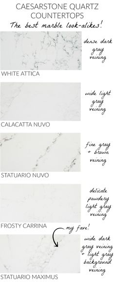 Love these Caesarstone countertops that have the durability of quartz but look like marble! kitchen/ appliances kitchen/ innovation kitchen/ ikea kitchen/ layout kitchen/ sunrooms kitchen/ composter k Cabnits Kitchen, Kitchen Ikea, Kitchen Pantry, Kitchen Appliances, Kitchen Decor, Kitchen Cabinets, Decorating Kitchen, Kitchen Sink, Kitchen Tops