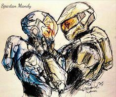 Halo Reach, Symbol Drawing, Queen Drawing, Halo Spartan, Halo Armor, Halo Master Chief, Halo Series, Halo Game, Halo 2