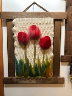 Weaving Wall Hanging, Weaving Art, Tapestry Weaving, Loom Weaving, Hand Weaving, Wet Felting, Needle Felting, Wool Art, Weaving Projects