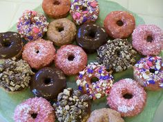 "High protein ""donuts"". VSG, WLS, Bariatric, Paleo, low carb, high protein, Gluten-Free."