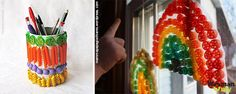 Поделки из макарон своими руками - шедевры детского творчества