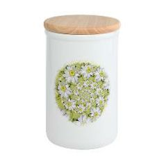 Fractal White daisy Spiral2 Container> White Designs> Rosemariesw Digital Designs