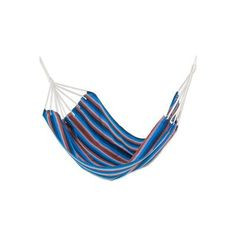 NOVICA Hand Woven Cyan Striped Double Hammock from Guatemala ($103) ❤ liked on Polyvore featuring home, outdoors, patio furniture, hammocks & swings, blue, fabric, hammocks, homedecor, novica and hand woven hammock