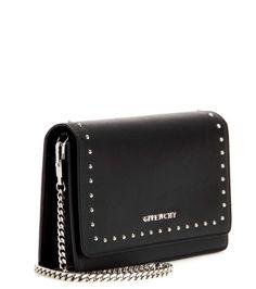 mytheresa.com - Pandora Chain leather shoulder bag - Luxury Fashion for Women / Designer clothing, shoes, bags