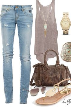 Casual Outfit, jeans
