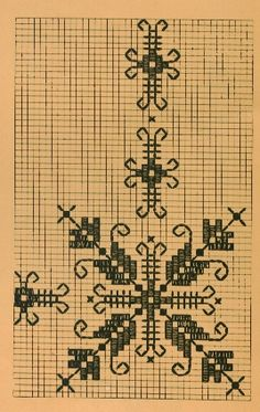 Bordado de lagartera Blackwork Embroidery, Cross Stitch Embroidery, Embroidery Patterns, Hand Embroidery, Stitch Patterns, Bargello, Cross Stitch Borders, Running Stitch, Tapestry Crochet