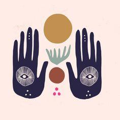 Hasma Hand Mural Duvet Cover by Thealchemyofdesign - Twin XL: x Meditation, Organic Shapes, Hamsa, Graphic Design Inspiration, Stickers, Illustration Art, Illustrations, Duvet Covers, Drawings