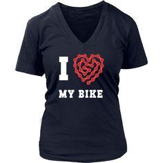 Cycling T Shirt - I love my bike