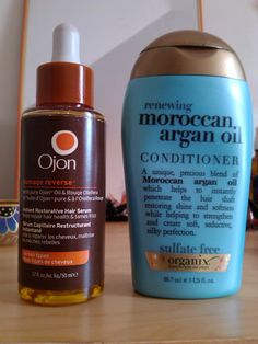 For all the ladies who have naturally curly yet frizzy hair (like I do) and want a break from straightening it, these products are a God-send! I use the conditioner and leave in for 10 mins before rinsing out and the Ojon serum, I use a tiny bit whilst hair is wet, tiny bit whilst half dry and then a bit when dry. Non-frizzy curls all round!  gotta try this...