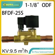 """161.50$  Buy now - http://aliwlj.worldwells.pw/go.php?t=32785425334 - """"1-1/8"""""""" ODF Bi-flow solenoid valves allows the heat pump or constant temperature to switch evaporator and condenser mutully """" 161.50$"""