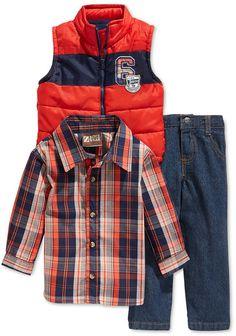488f221d1e Nannette Little Boys  3-Piece Vest