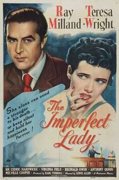 The Imperfect Lady - shocking! :p