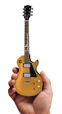 Joe Bonamassa Mini Guitar Goldtop #1 in Series