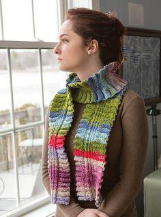 NobleKnits.com - Classic Elite Liberty Wool Molly Ruffle Scarf PDF Knitting Pattern, $5.95 (http://www.nobleknits.com/classic-elite-liberty-wool-molly-ruffle-scarf-pdf-knitting-pattern/)