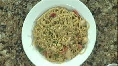 Ginger Peanut Noodles With Chicken Monday, April 13, 2015