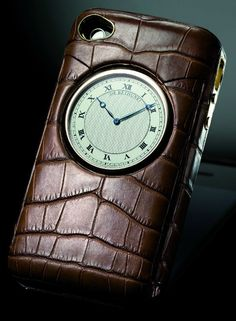 De Bethune Alligator Skin Iphone Case